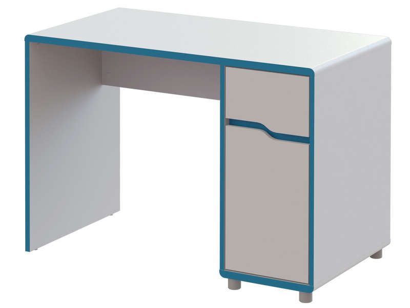 bureau bleu