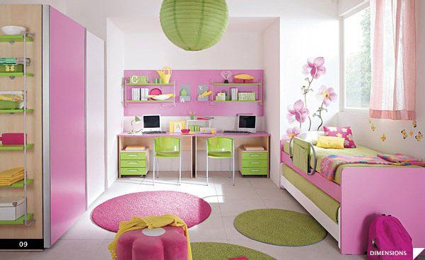 chambre fille 5 ans