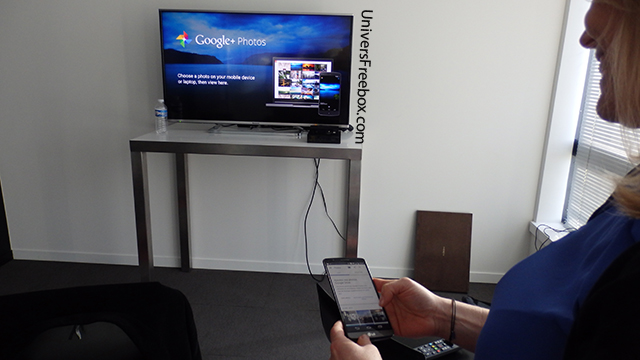 chromecast freebox