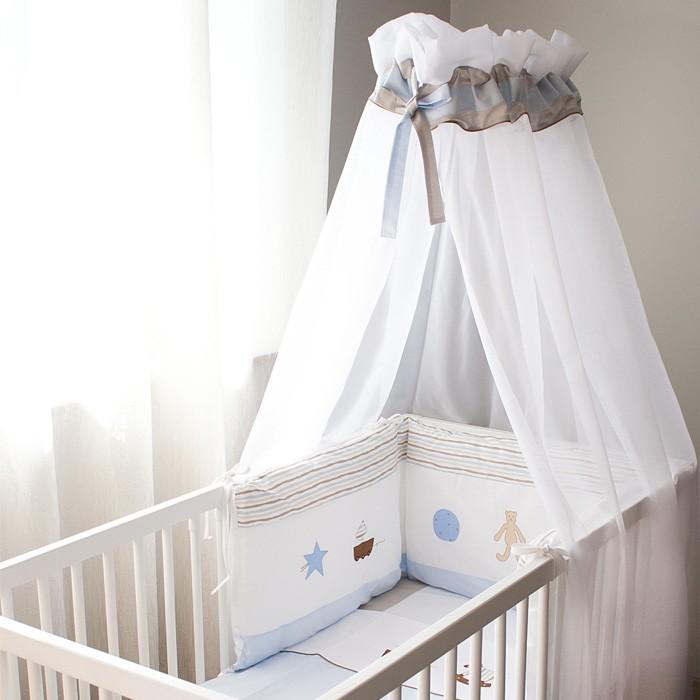 ciel de lit bébé moustiquaire