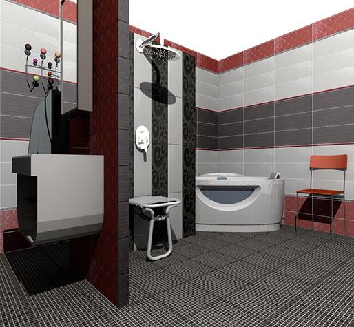 conception salle de bain 3d