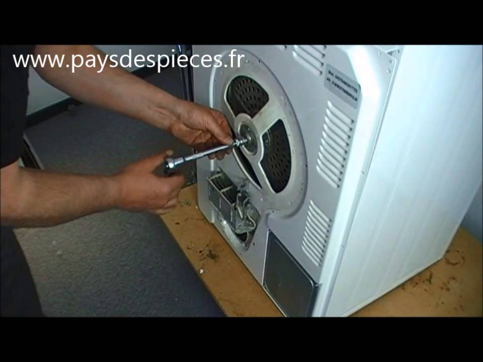 courroie seche linge laden