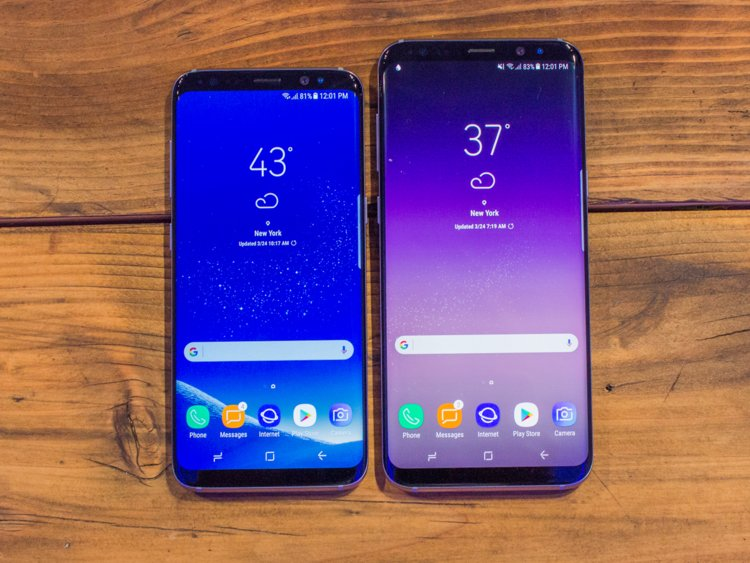 difference s8 et s8