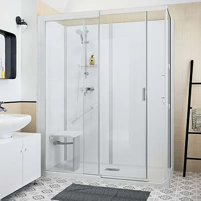 douche rectangulaire
