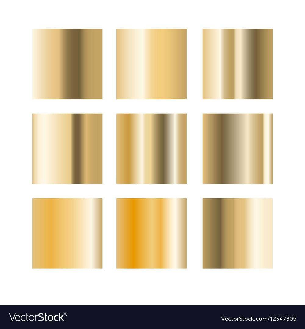 gold palette