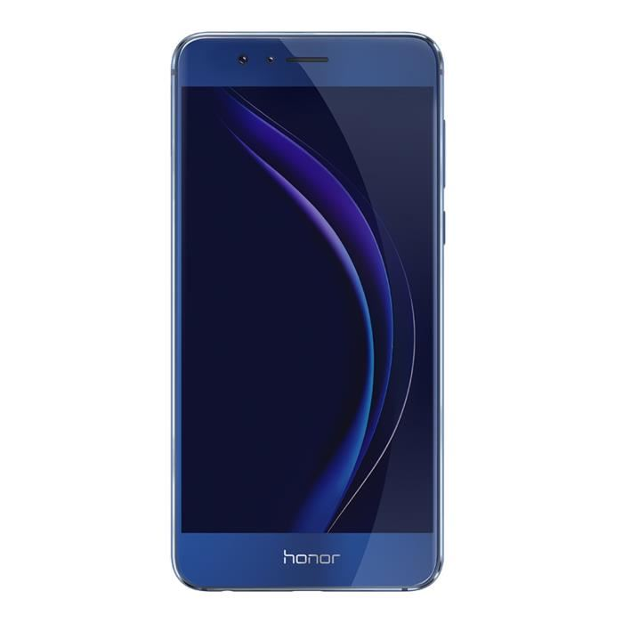 honor 8 bleu