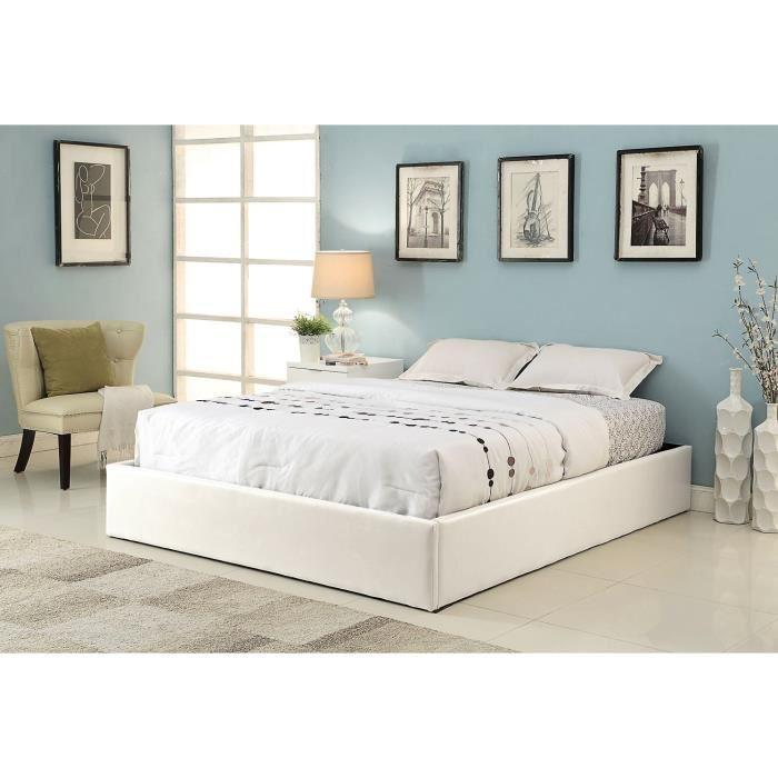 lit sans tete de lit