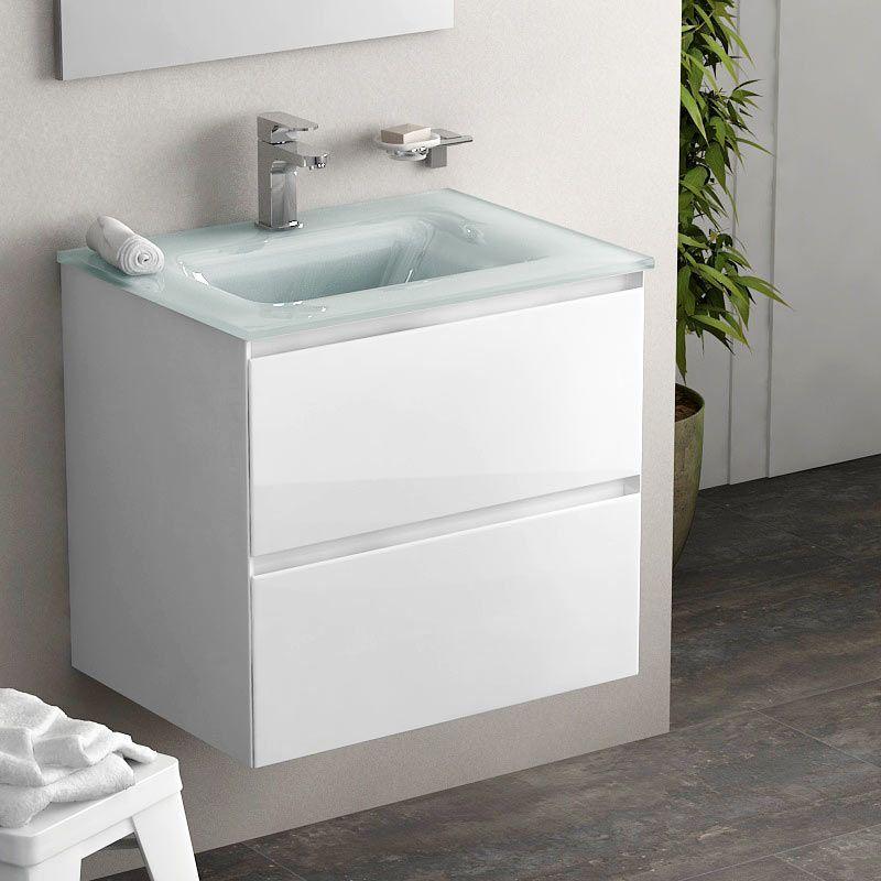 meuble salle de bain une vasque