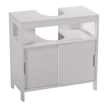 meuble sous lavabo colonne