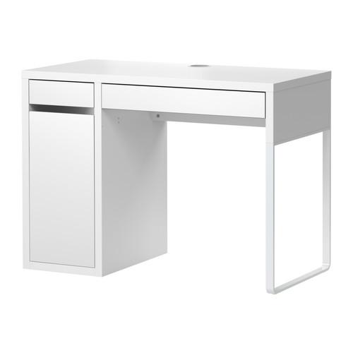 micke bureau blanc