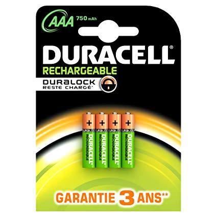 pile aaa rechargeable