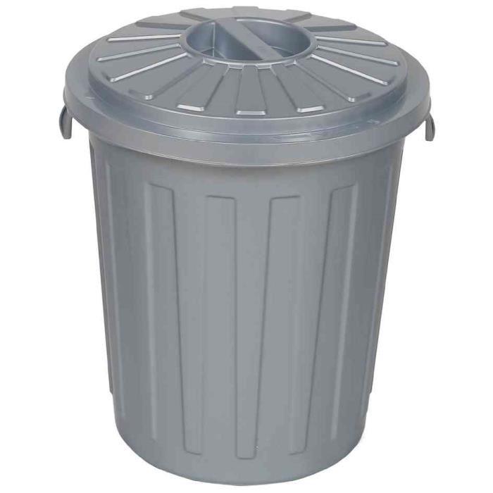 poubelle avec couvercle