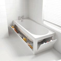rangement baignoire