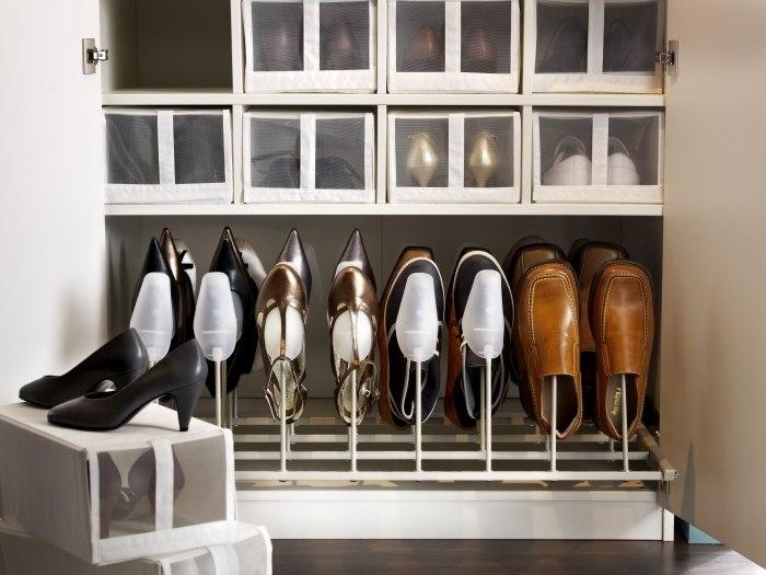 rangement chaussures dressing