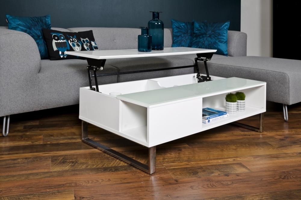 table basse hauteur réglable