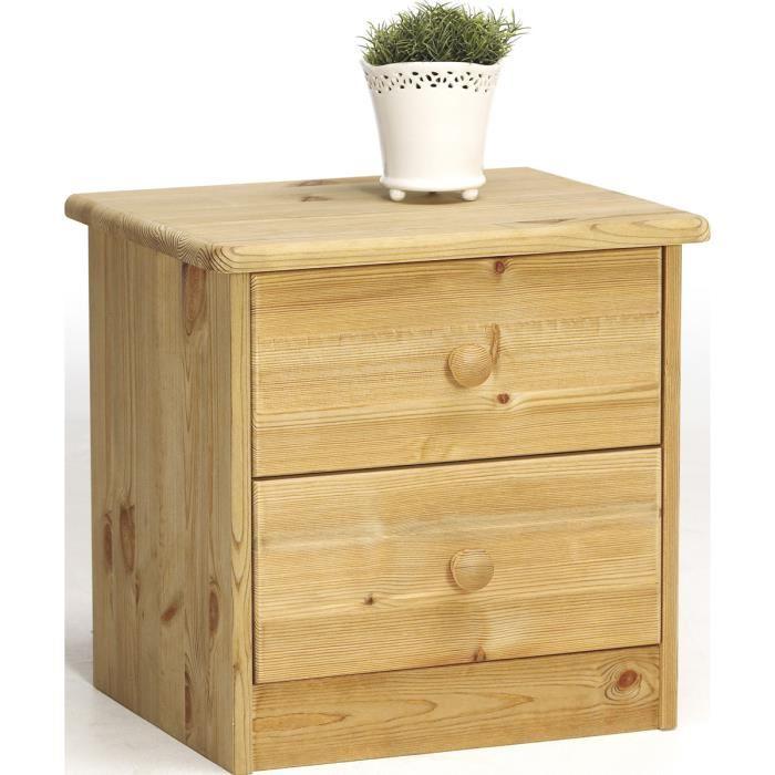 table de chevet en pin