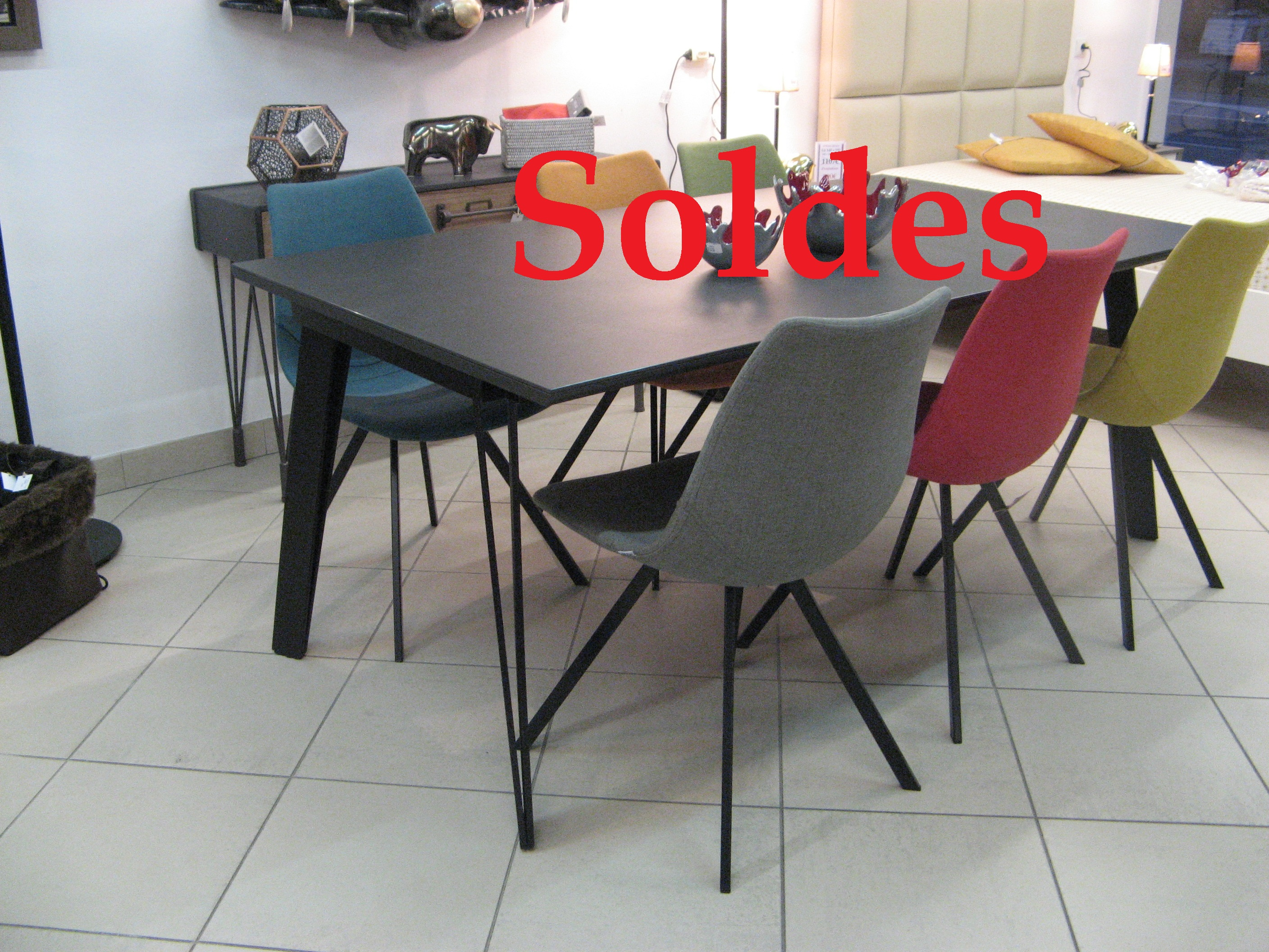 table solde
