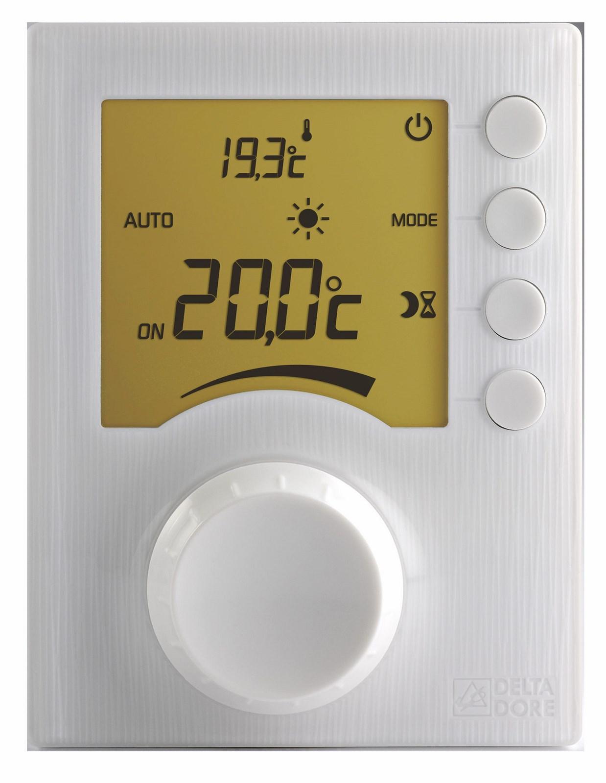 thermostat chaudiere gaz