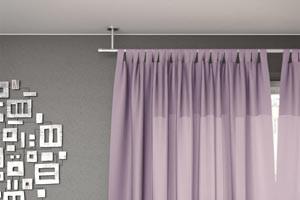 tringle à rideaux plafond