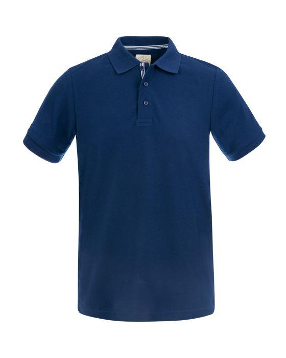 polo bleu marine