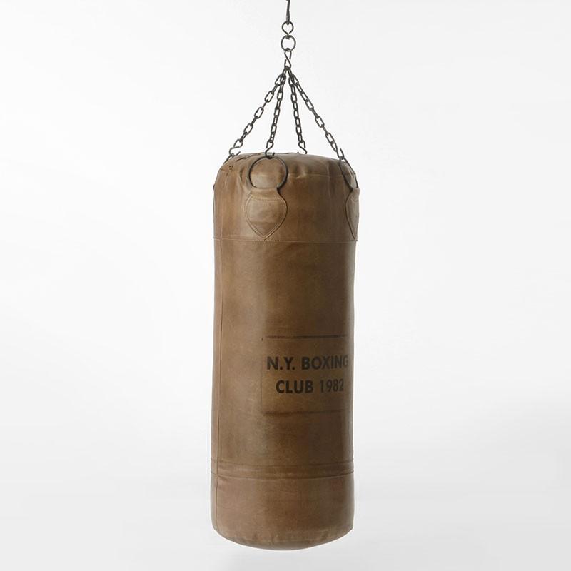 sac de boxe cuir