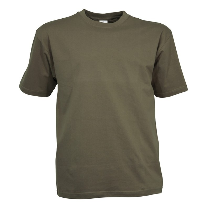 tee shirt kaki