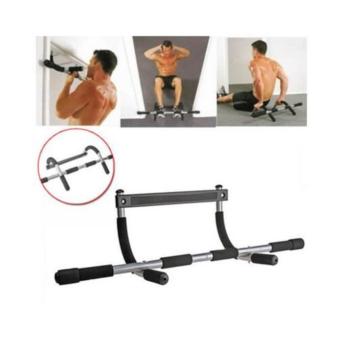 barre de musculation porte