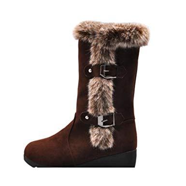 bottes chaudes femme