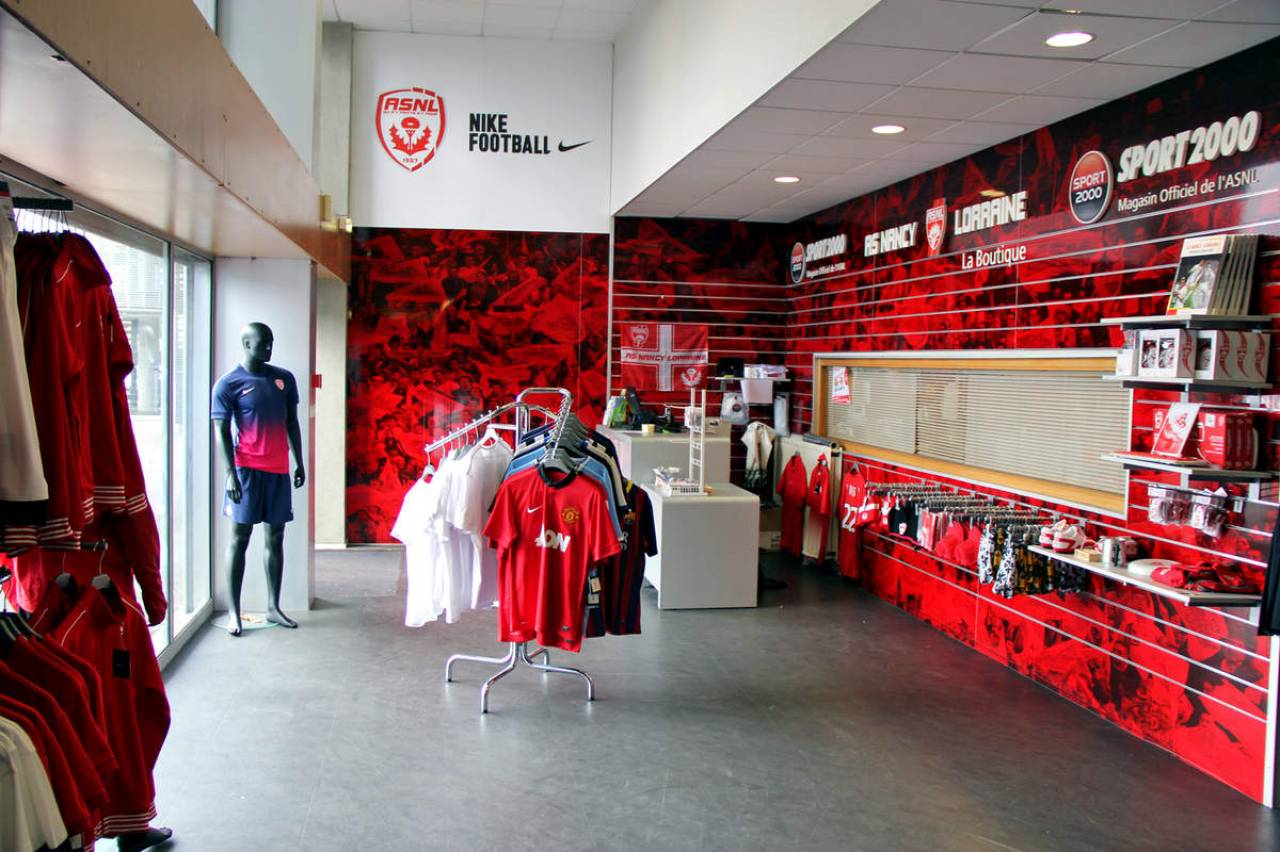magasin sport nancy