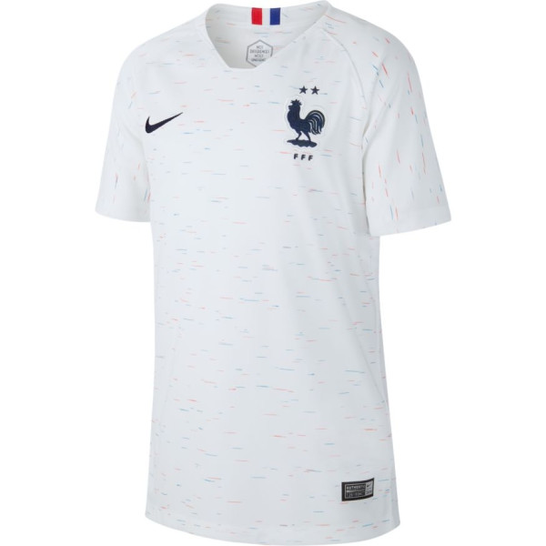 maillot blanc equipe de france